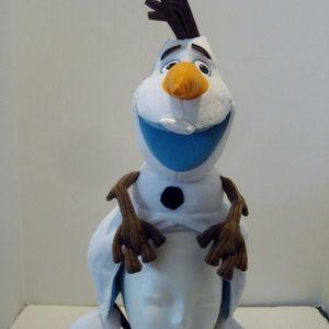 Disney Parks Frozen Olaf Plush Hat Snowman New in